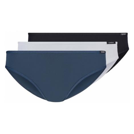 Skiny Nohavičky 'Rio'  čierna / biela / námornícka modrá