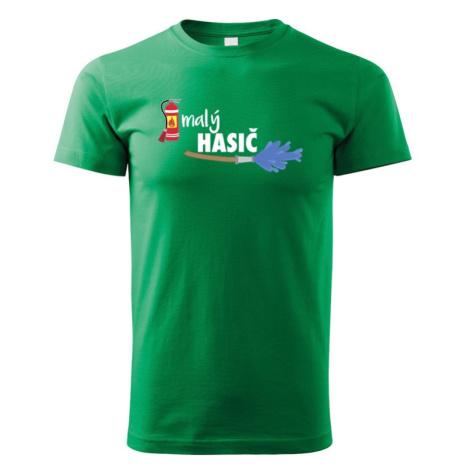 Detské tričko Malý hasič - originálne tričko pre syna hasiča