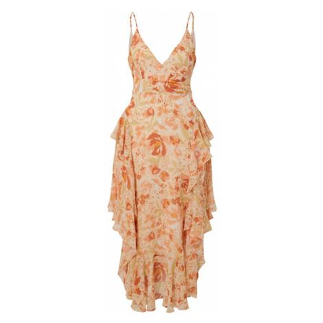 Bardot Šaty 'ROCHELLE'  ružová / oranžová