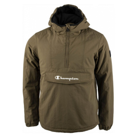 Champion HOODED JACKET - Pánska zateplená bunda