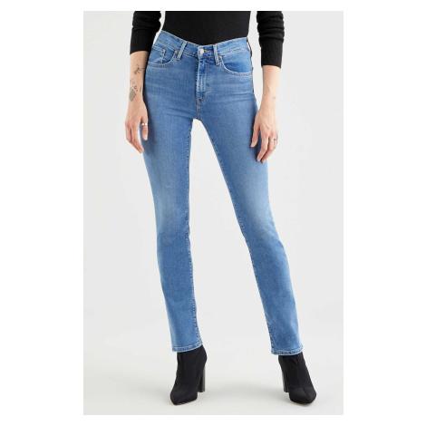 Levi's® jeans 724 High Rise Straight Rio Frost dámske modré Levi´s