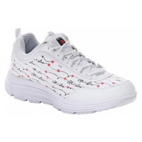 Lotto LOVE RIDE AMF PRIME PRT W biela - Dámska obuv na voľný čas