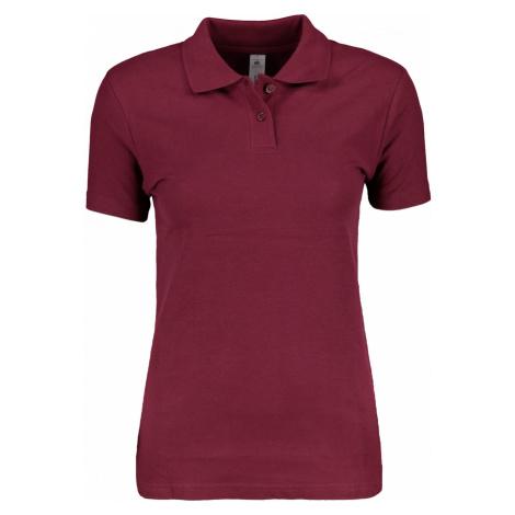 Women's polo shirt B&C Basic B&C