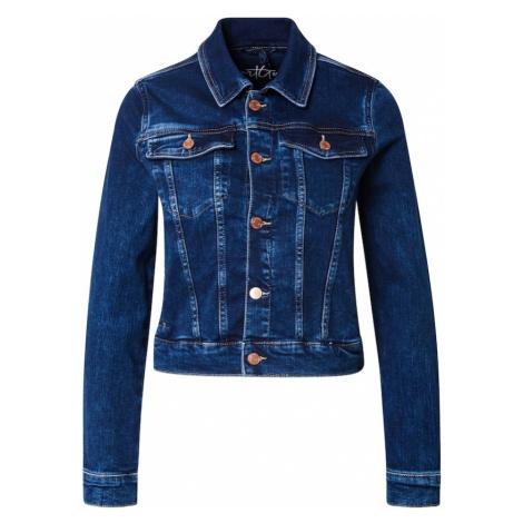 GUESS Prechodná bunda 'Delya'  modrá denim
