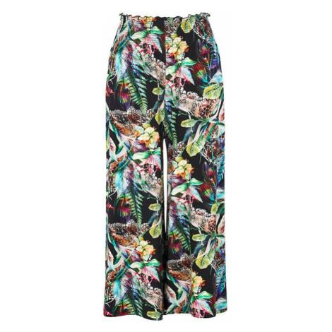 Nohavicová sukňa z džerseja s riasením