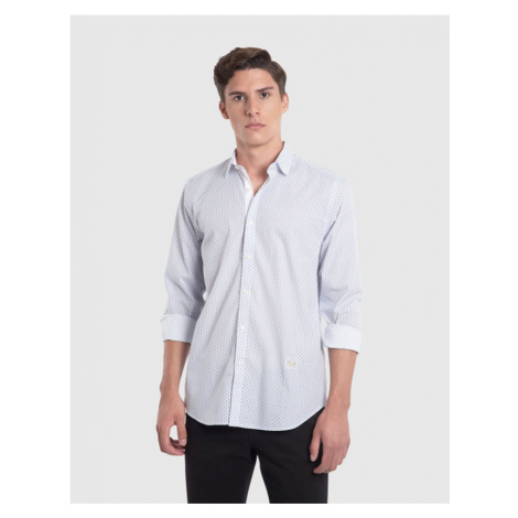 Košeľa La Martina Man Shirt L/S Allover Printed