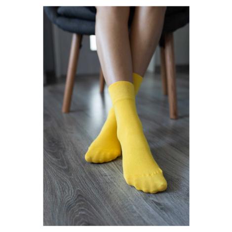 Barefoot ponožky - žlté 43-46