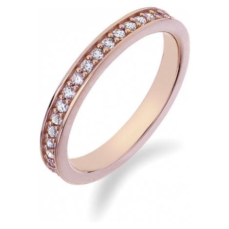 Hot Diamonds Prsteň Emozioni Infinito Rose Gold ER008 mm