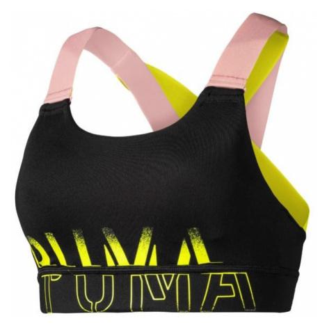 Puma FEEL IT BRA M žltá - Športová podprsenka