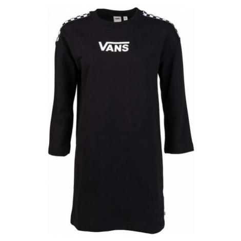 Vans WM CHROMO II DRESS čierna - Dámske šaty