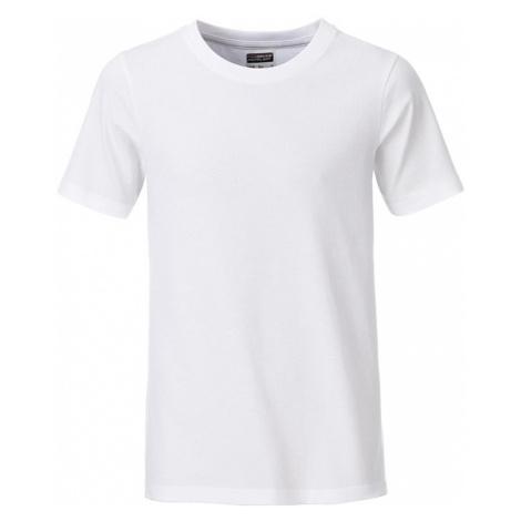 James & Nicholson Klasické chlapčenské tričko z biobavlny 8008B