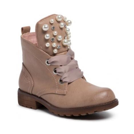 Šnurovacia obuv Nelli Blu CS1605-02 Ekologická koža/-Ekologická koža