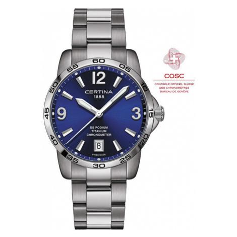 Certina DS Podium Chronometer C034.451.44.047.00