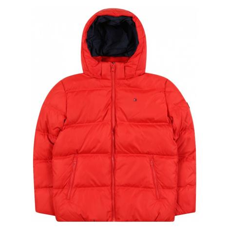 TOMMY HILFIGER Zimná bunda 'ESSENTIAL DOWN JACKET'  červená