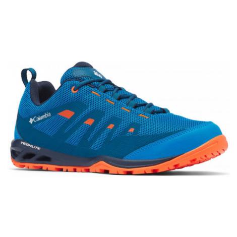 Columbia VAPOR VENT modrá - Pánska športová obuv