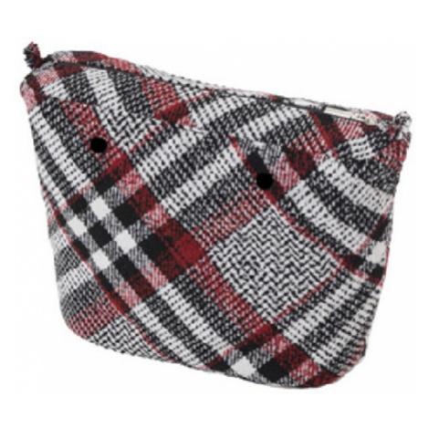 Obag vnútorná taška tartan biela / red / čierna O bag