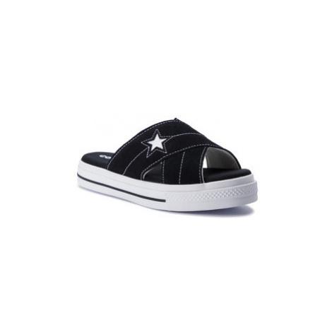 Converse Šľapky One Star Sandal Slip 564143C Čierna