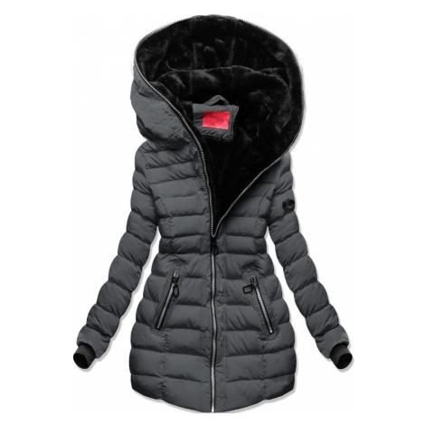 MODOVO Dámska zimná bunda grafitová