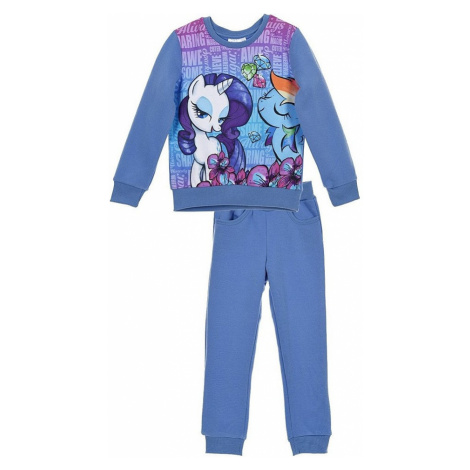 My little pony dievčenské modrá tepláková súprava