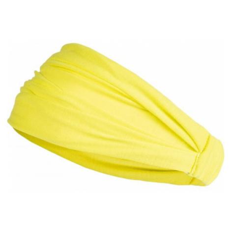 Lewro KESY žltá - Dievčenská šatka na hlavu