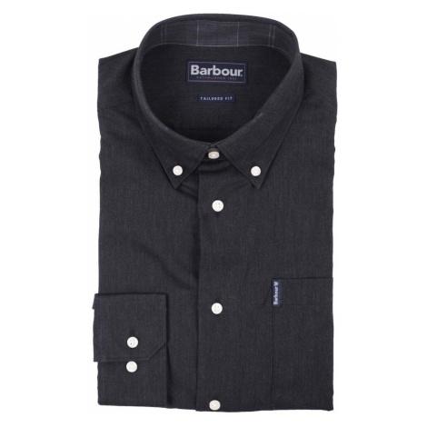 Barbour Antracitová košeľa Barbour Lambton (button-down)