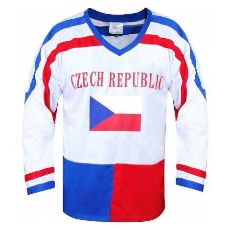 Hokejový dres ČR 7, bílý Oblečení