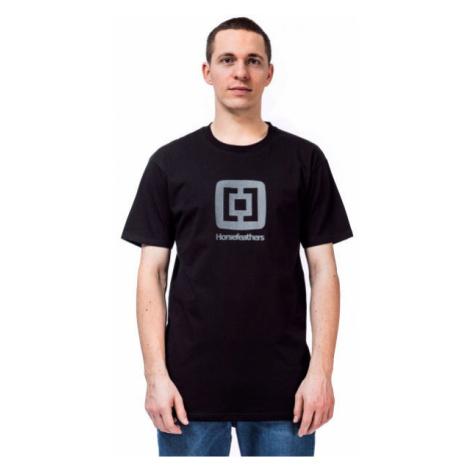 Horsefeathers FAIR T-SHIRT čierna - Pánske tričko