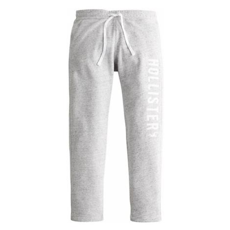 HOLLISTER Nohavice  sivá melírovaná / biela