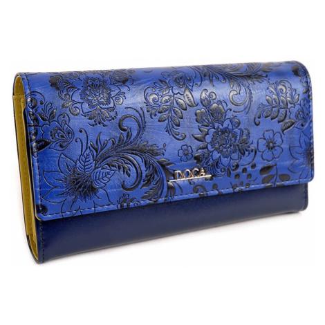 Dámska peňaženka Doca 64981 - modrá
