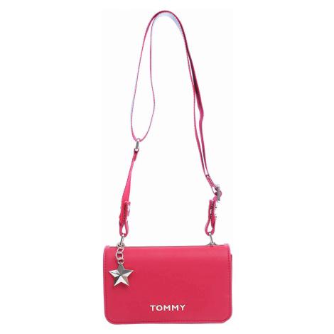 Tommy Hilfiger dámská kabelka AW0AW06438 614 tommy red-silver metallic AW0AW06438 614