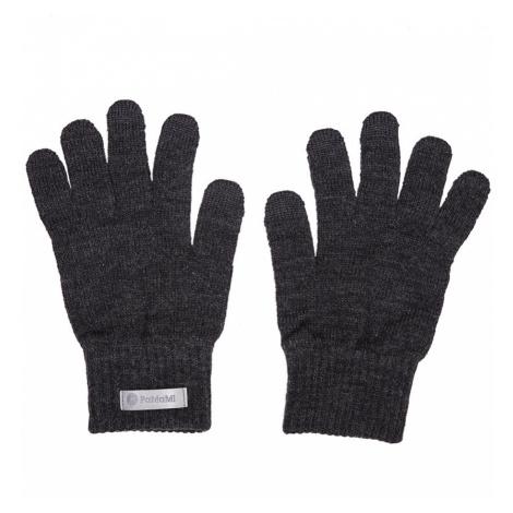 Pánske rukavice Warm tmavošedé