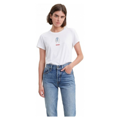 Levi's X STAR WARS GRAPHIC TEE SHIRT biela - Dámske tričko Levi´s