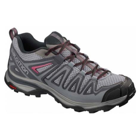 Salomon X ULTRA 3 PRIME W šedá - Dámska hikingová obuv