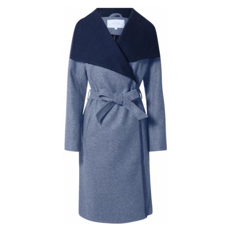VILA Prechodný kabát 'Bias'  tmavomodrá / modrosivá