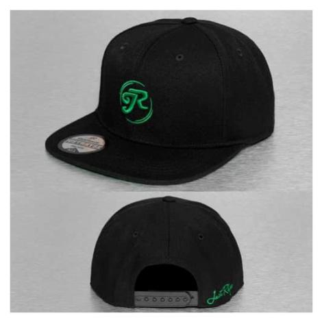 Just Rhyse Logo Snapback Cap Black - Veľkosť:UNI