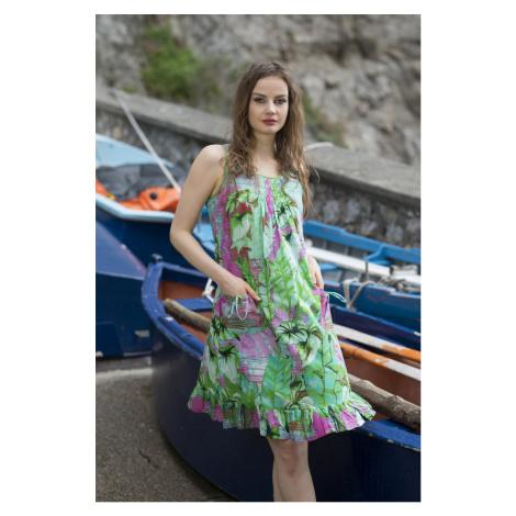 Orientique farebné šaty Lecce