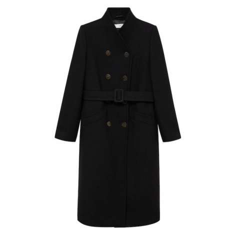MANGO Prechodný kabát 'Luna'  čierna