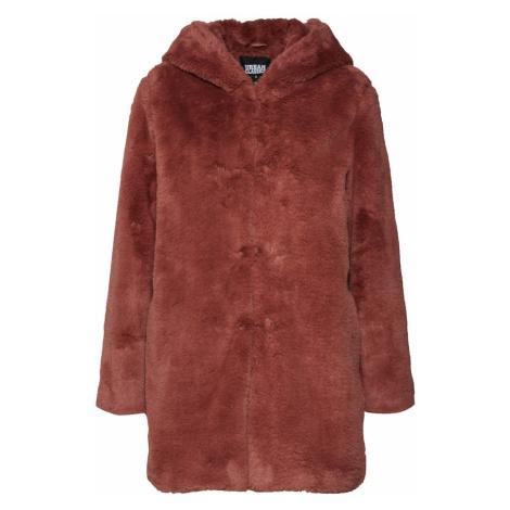 Urban Classics Prechodný kabát  hrdzavo červená