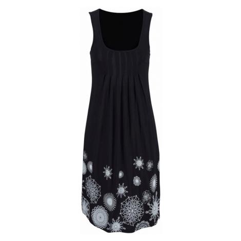 BEACH TIME Plážové šaty  čierna / biela Beachtime