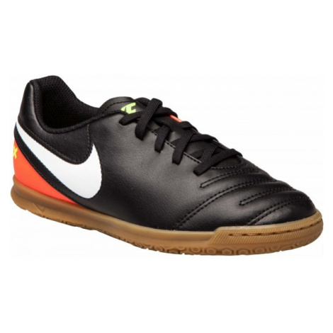 Nike JR TIEMPOX RIO III IC tmavo sivá - Detské halovky