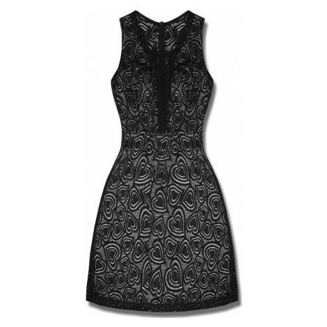 MODOVO Elegantné dámske šaty P7575 biele
