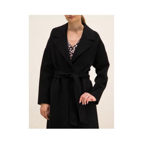 Laurèl Prechodný kabát 91002 Čierna Regular Fit Laurel