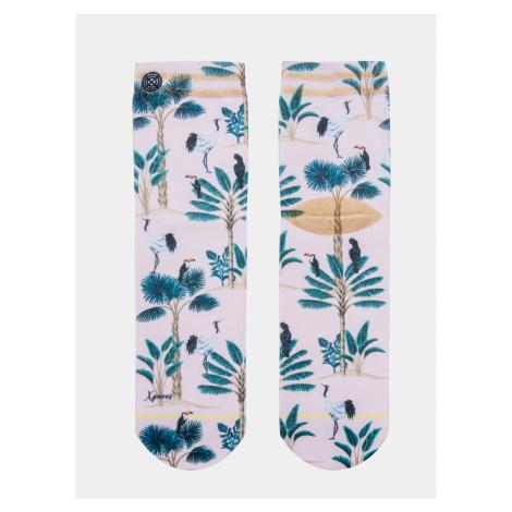 Svetloružové dámske ponožky XPOOOS