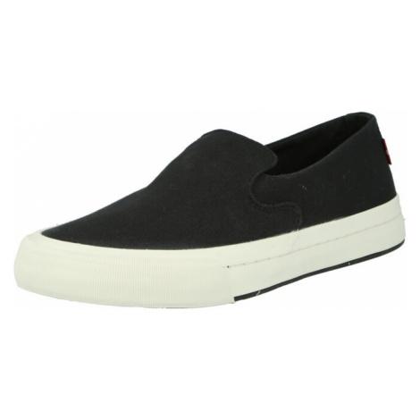 LEVI'S Slip-on obuv 'SUMMIT'  čierna Levi´s