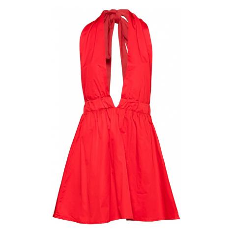 KENDALL + KYLIE Kokteilové šaty  červená