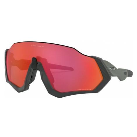 Oakley FLIGHT JACKET tmavo sivá - Slnečné okuliare