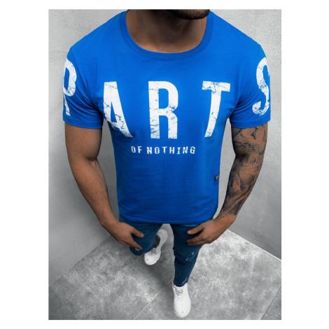 Nebesky modré módne tričko O/1180Z BREEZY
