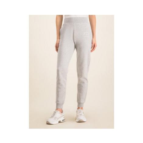 KARL LAGERFELD Teplákové nohavice 96KW1050 Sivá Regular Fit