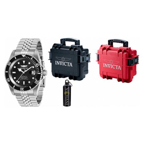 Invicta VÝHODNÝ SET Automatic Pro Diver + stylový kufr + cestovní láhev