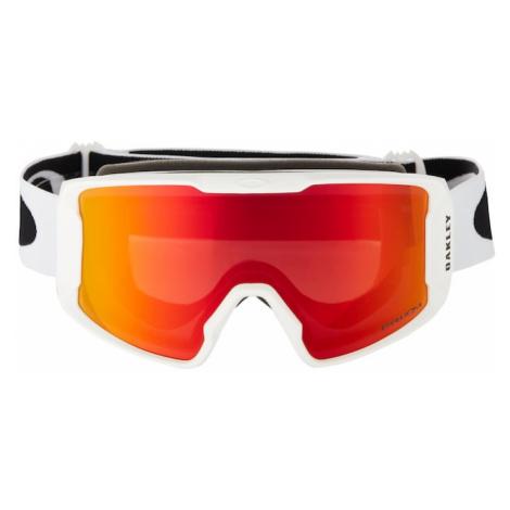 OAKLEY Športové okuliare 'Line Miner'  červená / biela